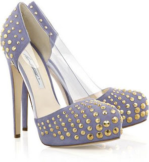 Loca Studded Pumps | Net-A-Porter | Brian Atwood | Designer | Shoes