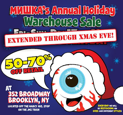 Mishka | Clothing | Streetwear | Brooklyn | New York City | NYC | Warehouse | Sale