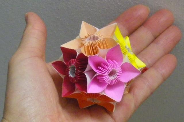 クリスマス 折り紙:折り紙 くす玉 簡単-divulgando.net
