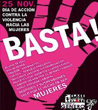 Basta de violencia contra las mujeres!!