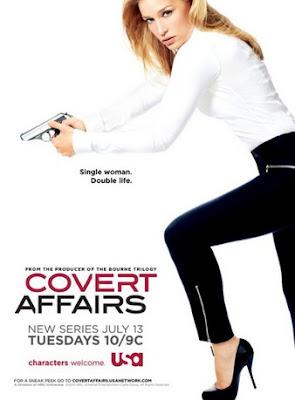Download Covert Affairs S02E01 HDTV RMVB Legendado