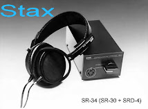 Stax SR-34 Professional Electrect Headphone System: