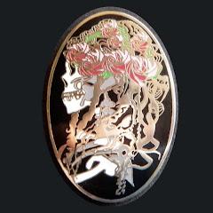 """Bertha""  Skull and Roses"