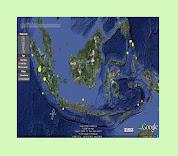 Peta Zona Lempeng Tektonik RI