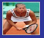 Who is she, Anna Kournikova ?