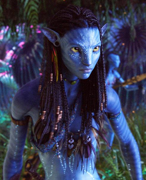 New Image of Neytiri in Avatar