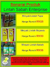 Senarai Produk Lintah Sabah