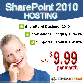 SharePoint Hosting by ASPHostCentral
