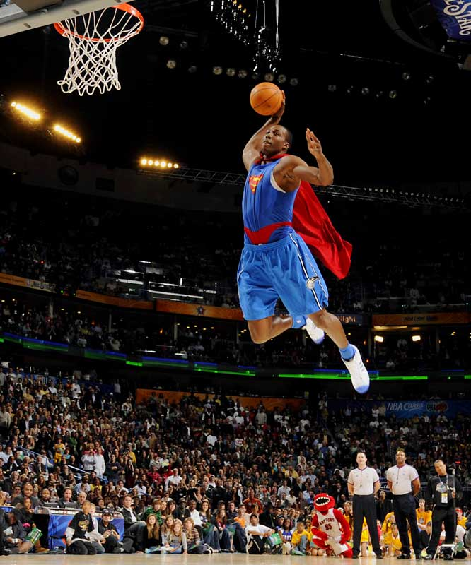 dwight howard dunk contest 2008. dwight howard dunks on kobe.
