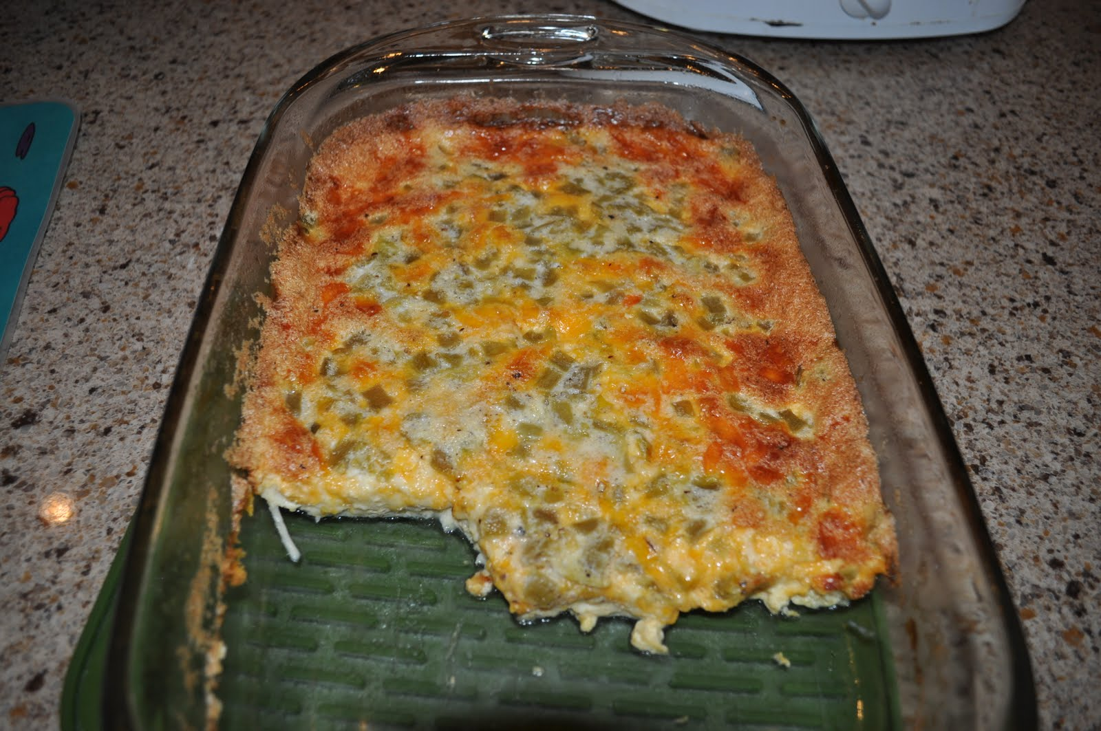... green onions and cheese green chile bacon and cheese egg bake recipes