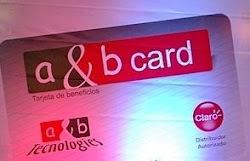 Adquiere tu A & B CARD