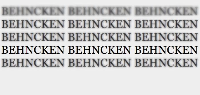 Behncken's