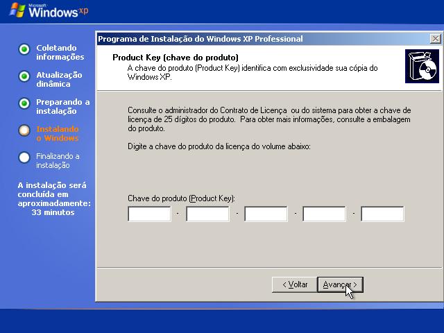 Outra forma de ativar seu Windows XP