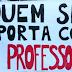 A greve continua para os profissionais em educação