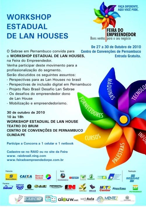 WORKSHOP para lan houses