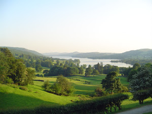 View over Coniston, Lake District