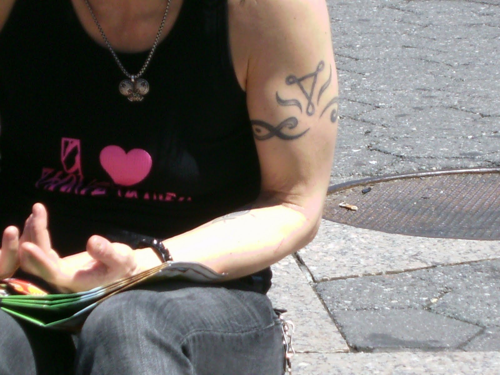 Tattoosday's Brush With Greatness: Joan Jett In Union Square