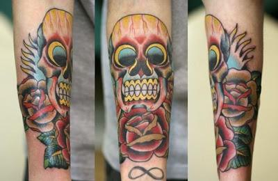 sugar skulls tattoos meaning