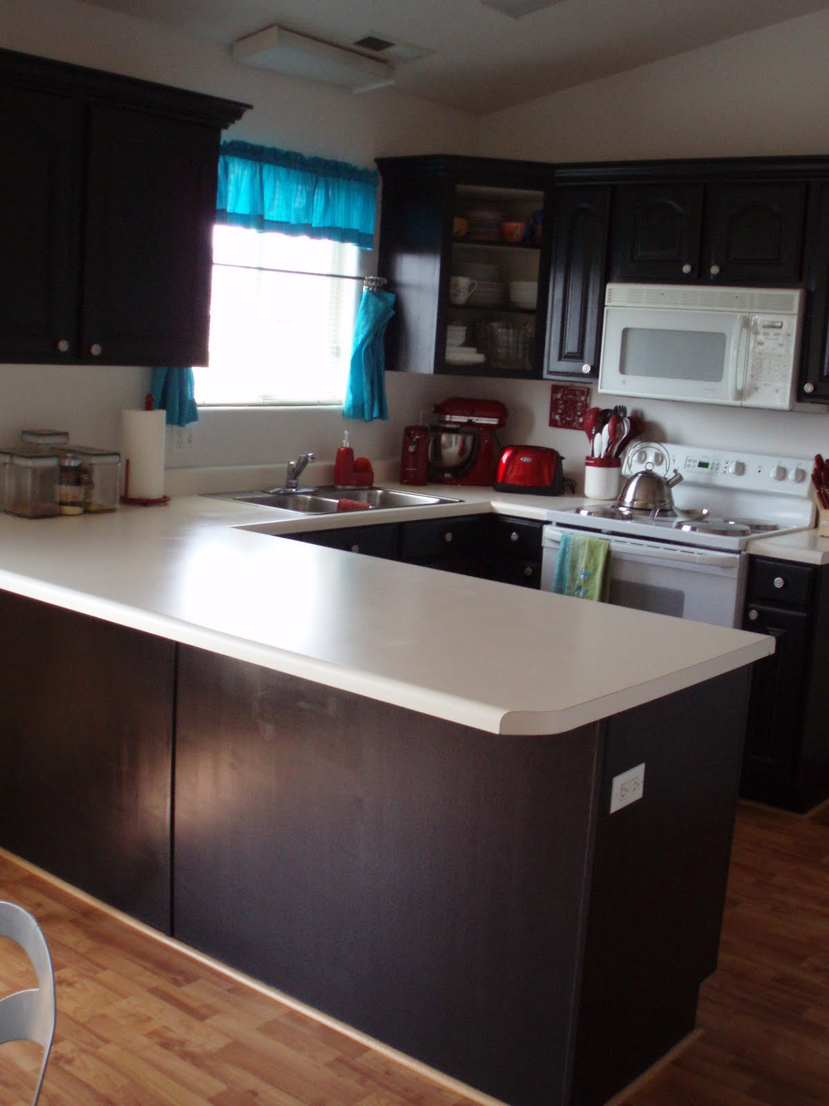 Kitchen Countertops On A Budget : The journals of a laura ingalls wannabe kitchen counter