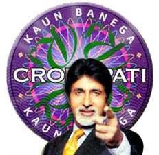 Amitabh Bachchan hosting KBC