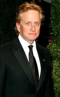 Michael Douglas blames stress for cancer