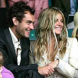 Sienna Miller denies secret marriage with Jude Law