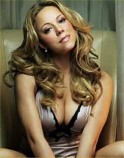 Mariah Carey is busy spending time with pregnancy books