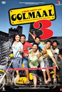 Rohit Shetty's 'Golmaal 3' a big hit this Diwali