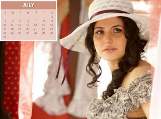 New Year Calendar 2011 - July