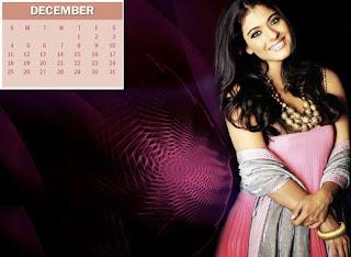 New Year Calendar 2011 - December