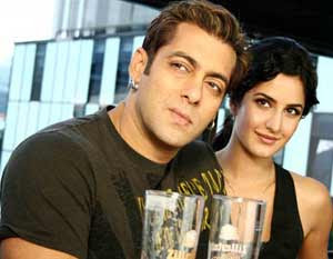 Salman Khan, Katrina Kaif together in Bigg Boss 4