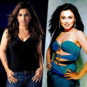 No rift between Rani Mukerjee and Vidya Balan: Director