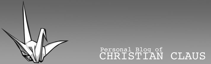 Personal Blog of Christian C.