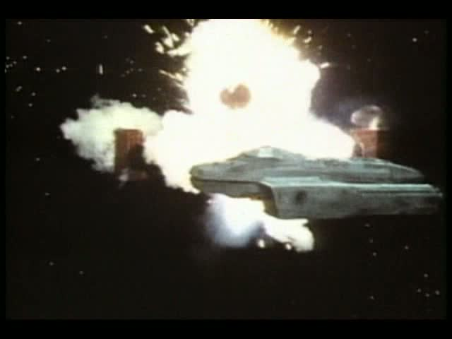 the Daleks' spacecraft,