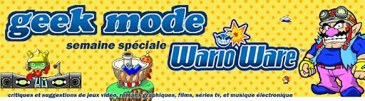 Bannière de la semaine spéciale WarioWare