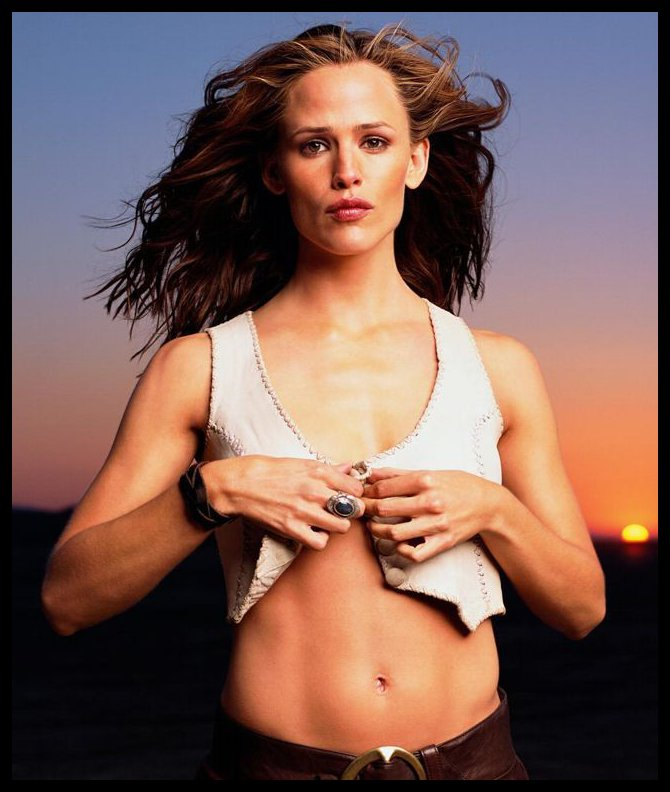 jennifer garner abs. Jennifer Anne Garner, is an