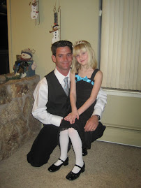 Andy and Addy's annual date night to the father daughter dance.