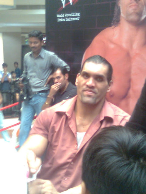 the great khali inorbit mall