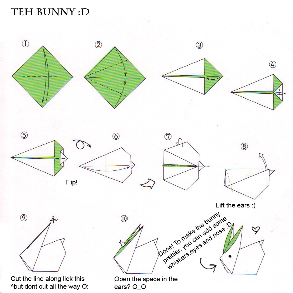 BRING TVXQ's SMILE BACK: TUTORIAL ORIGAMI