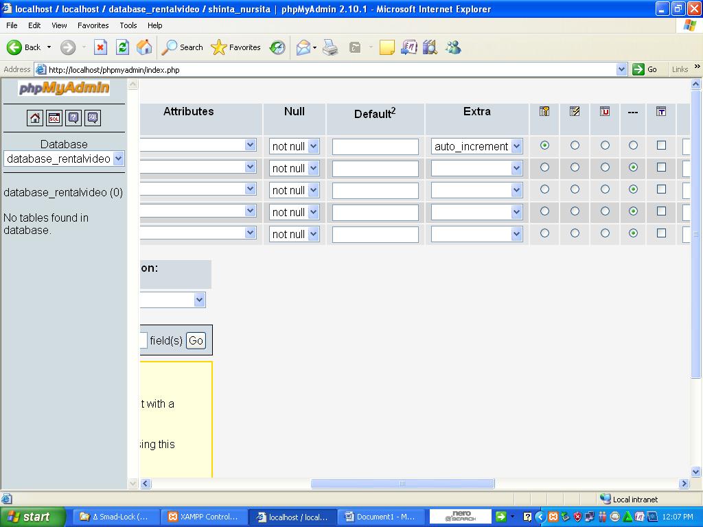 langkah membuat database mysql cara membuat database mysql