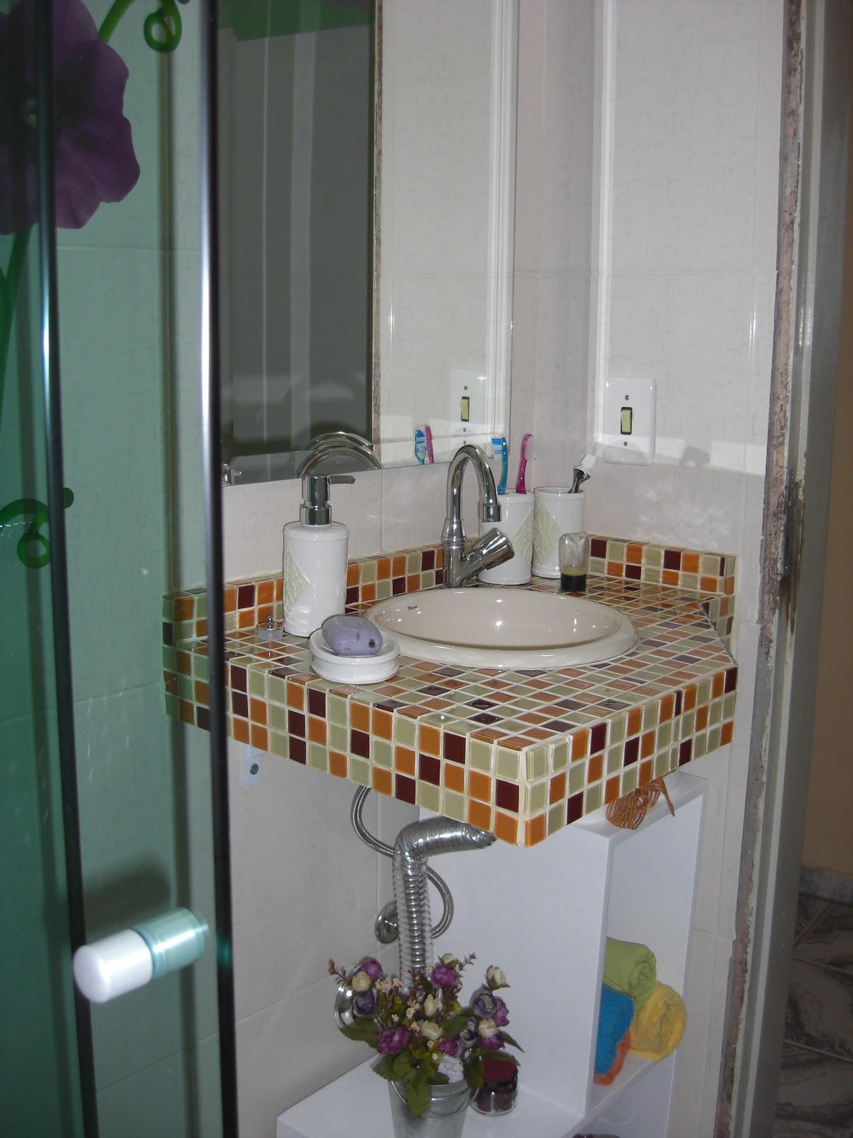 Banheiro pronto.. No próximo post coloco a foto deste armarinho  #684934 1200 1600
