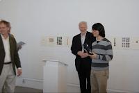 Gunnar Peng receiving his 7000 SEK price