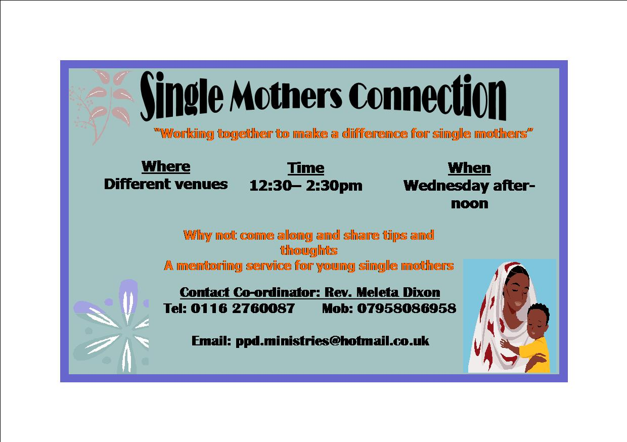 Praise Prayer Deliverance Ministries (Leicester): Single Mothers ...