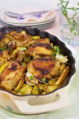 roast lemon chicken b jpg roasted rosemary honey lemon honey lemon