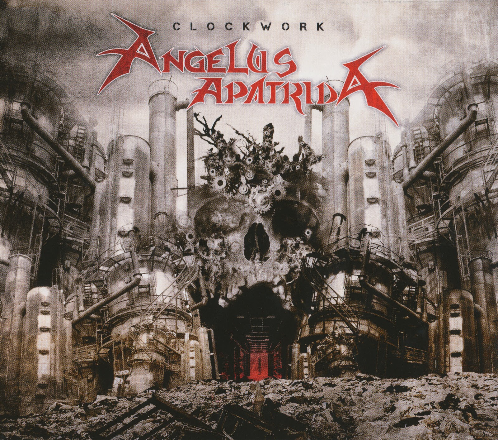 Slipcase+01 Angelus Apatrida (Esp)   Clockwork (2010) Thrash Metal