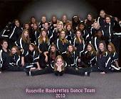 ROSEVILLE RAIDERETTES DANCE TEAM 2010