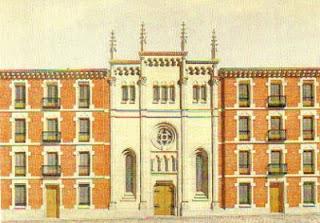 Fachada de la catedral anglicana del Redentor