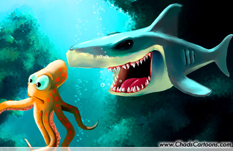 2007 cartoon shark search results from Google