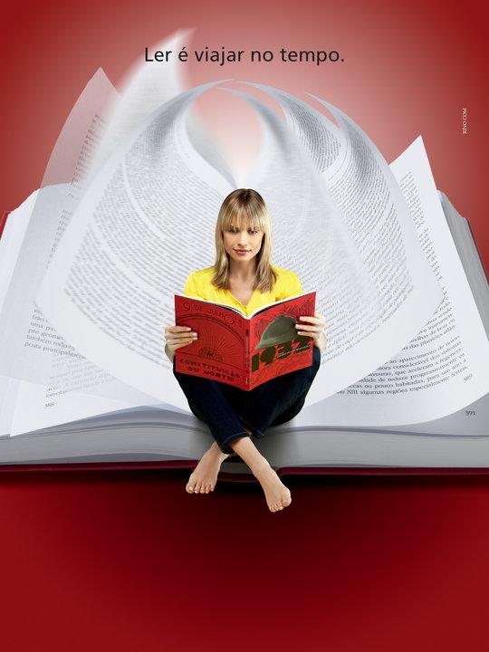 gosto muito de ler ....