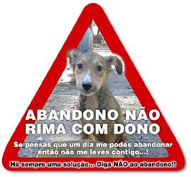 Não Abandone o seu Animal